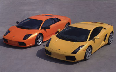 Lamborghini Murcielago and Gallardo