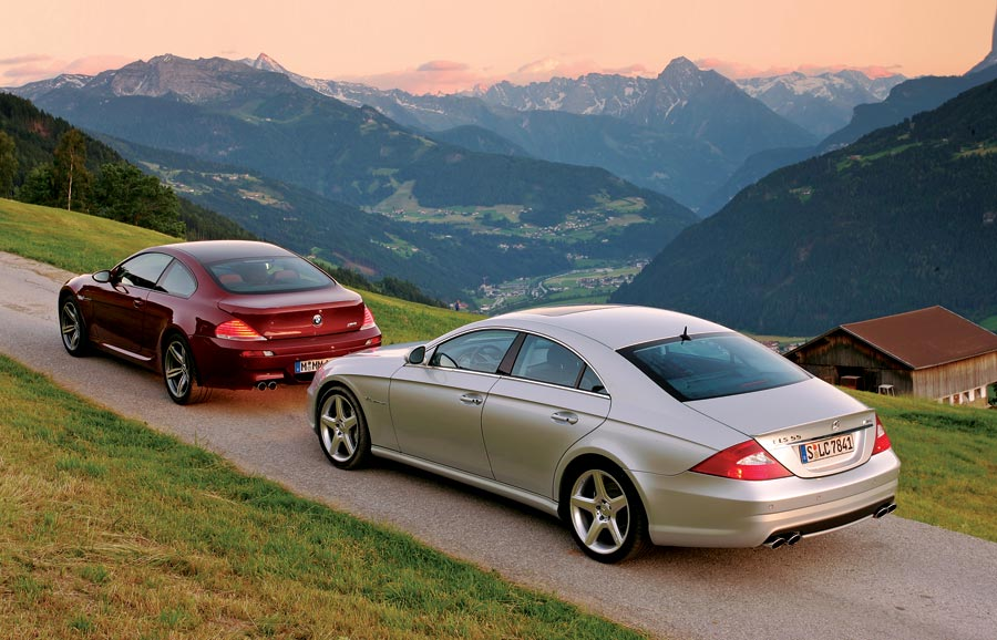 2006 Bmw M6 Vs Mercedes Benz Cls55 Amg Road Test