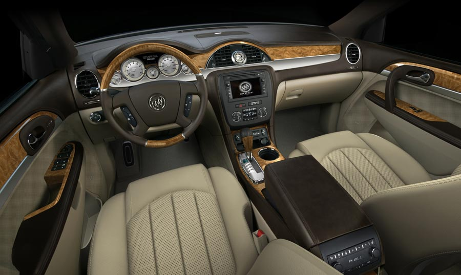 2007 buick enclave 2007 new cars automobile magazine - Buick enclave choccachino interior ...
