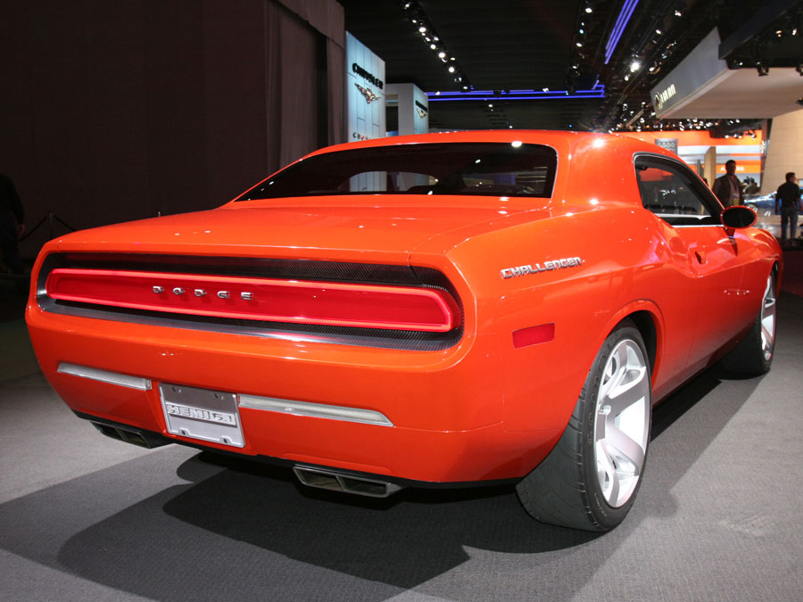 2009 Dodge Challenger 2008 Chicago Auto Show