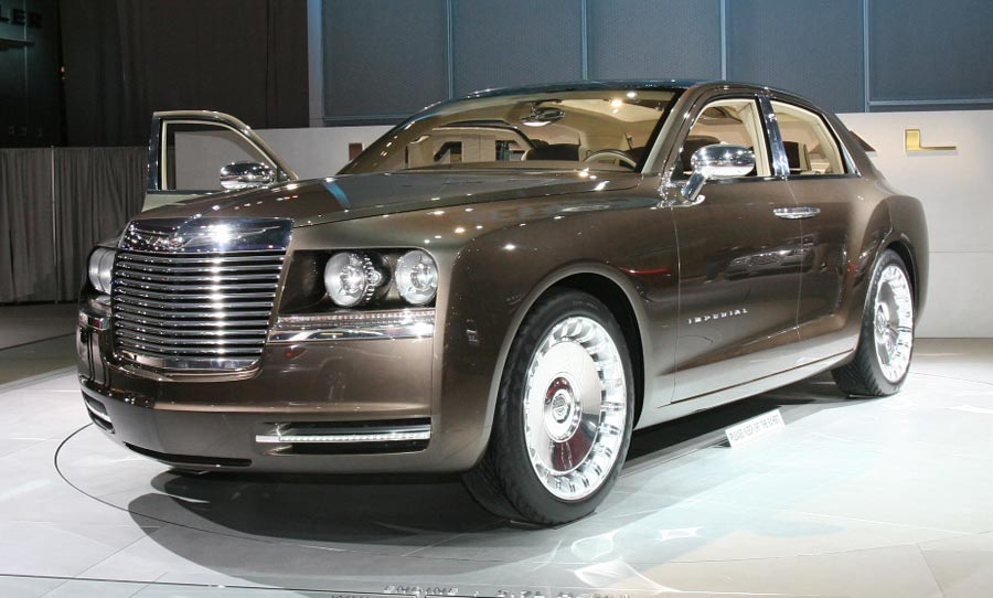 2009 Chrysler Imperial 2008 2009 Future Cars Sneak Preview