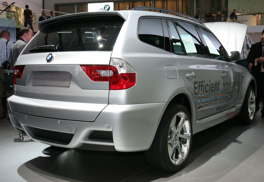 2008 Bmw X3 Hybrid 2008 Amp 2009 Future Cars Sneak Preview