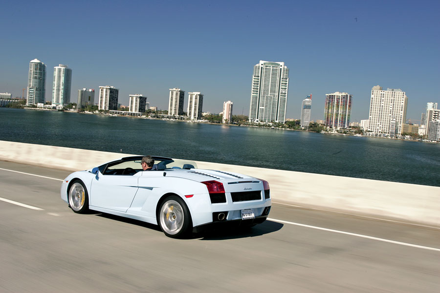 2007 Lamborghini Gallardo Spyder Road Test Amp Review