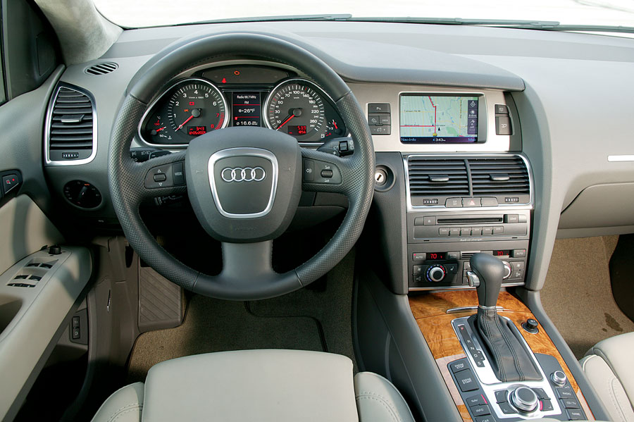 2007 Audi Q7 Suv Review Amp Road Test Automobile Magazine