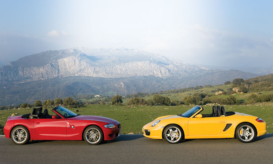 2007 Bmw Z4 M Roadster Vs 2006 Porsche Boxster S Car