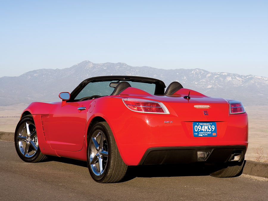 saturn sky  drive automobile magazine