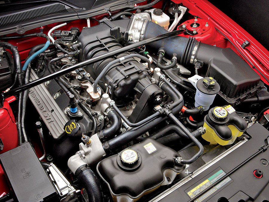 X Ford Shelby Gt Engine Compartment