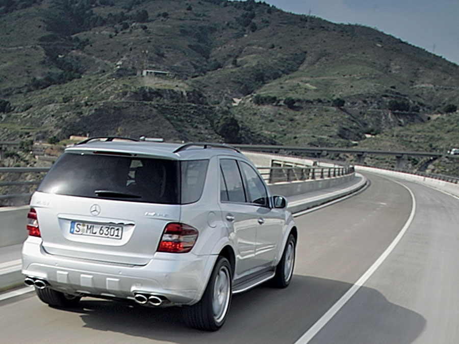 2007 mercedes benz ml63 amg suv review road test for 2007 mercedes benz suv