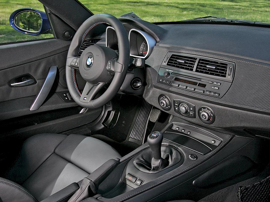 2007 Bmw Z4 M Coupe First Drive Automobile Magazine