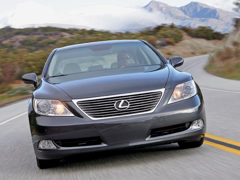 2007 Lexus Ls460 Car Reviews Amp Road Tests Automobile
