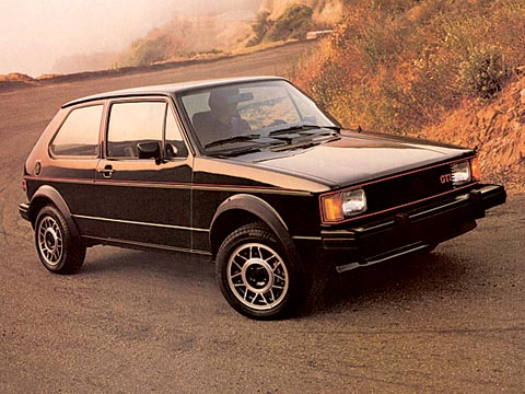Collectible Classic 1983 1984 Volkswagen Rabbit Gti