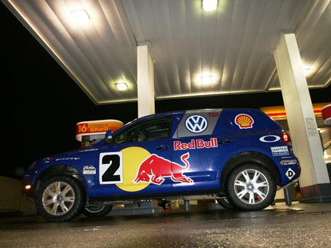 Bmw Cherry Hill >> 2007 Volkswagen Touareg V-10 TDI Pikes Peak Hill Climb Racer - Great Drives, Road Trips, and ...
