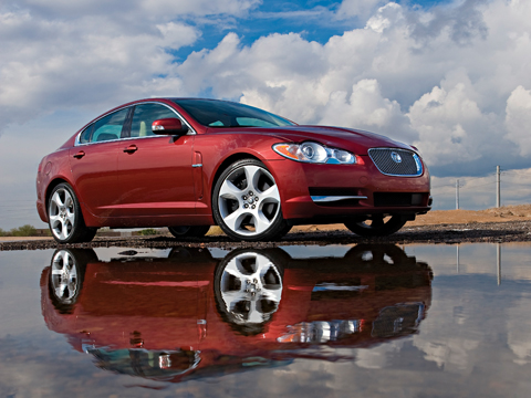 2009 jaguar xf supercharged latest news features and reviews automobile magazine. Black Bedroom Furniture Sets. Home Design Ideas