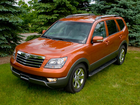 2009 Kia Borrego - Latest News, Features, and Reviews ...