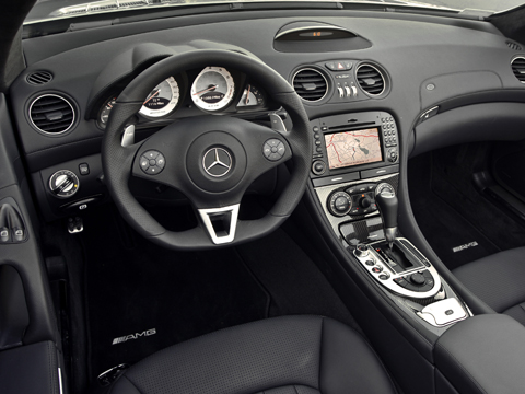 2009 Mercedes Benz Sl63 Amg Roadster Mercedes Benz