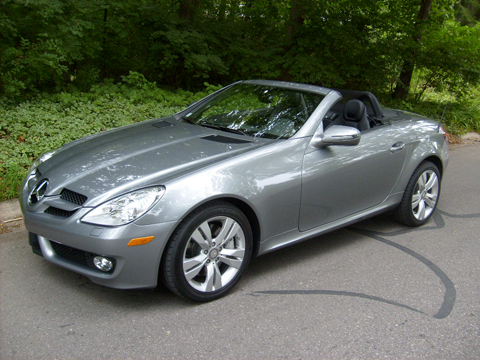 2009 Mercedes-Benz SLK350 - Mercedes Benz Luxury Convertible Review - Automobile Magazine