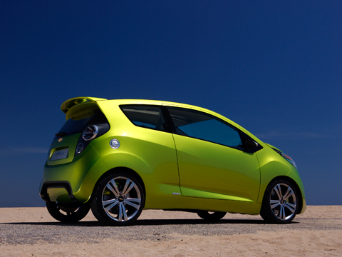 2011 Chevrolet Spark New Chevy Minicar Automobile Magazine