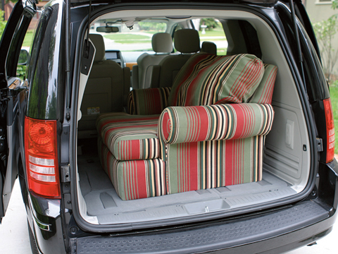 2008 Chrysler Town And Country Four Seasons Wrap Up