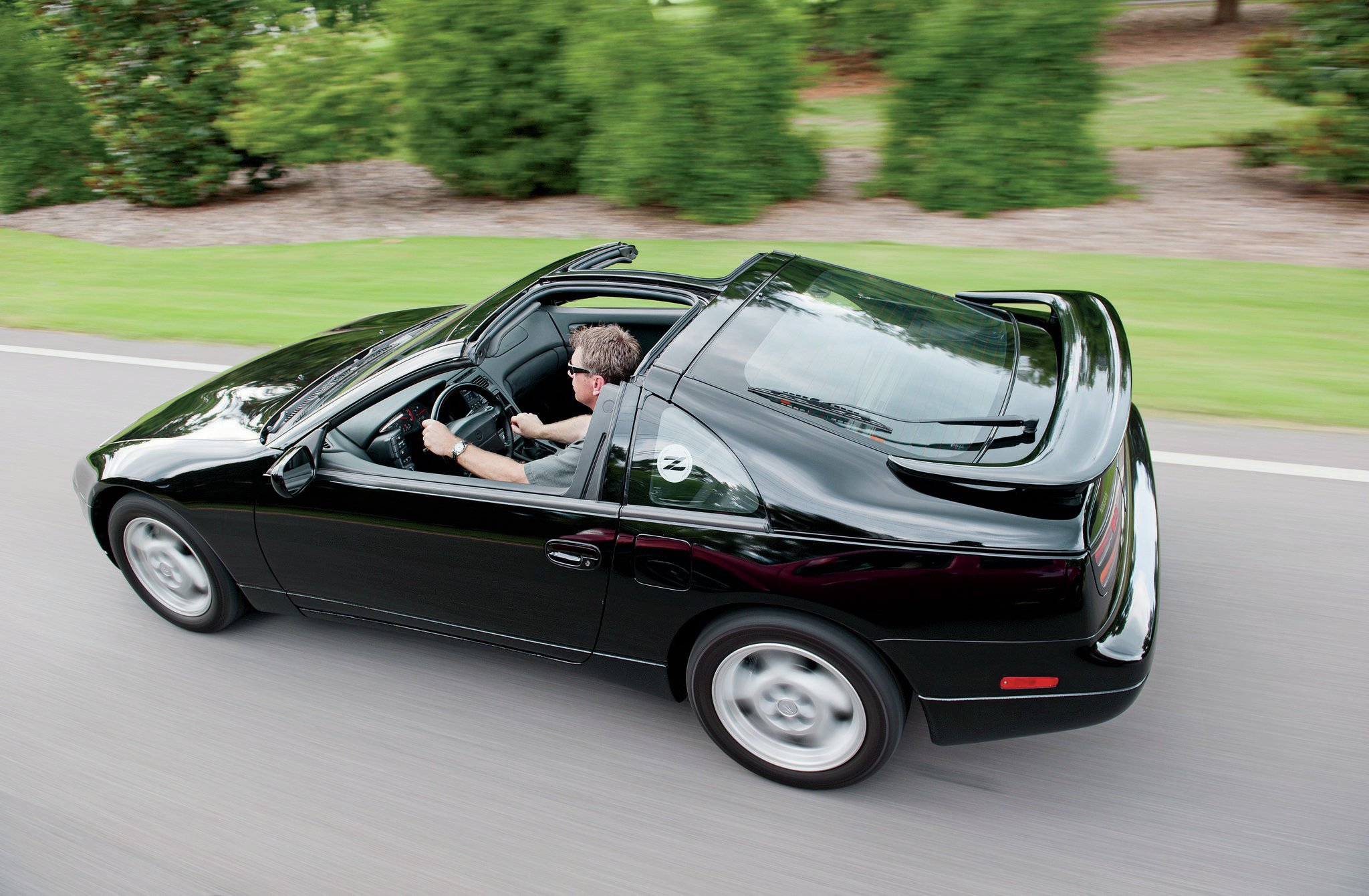 Still stylin': Yeah, it's got T-tops, but the 300ZX is no throwback. It's as fast and fun as any modern sports car.