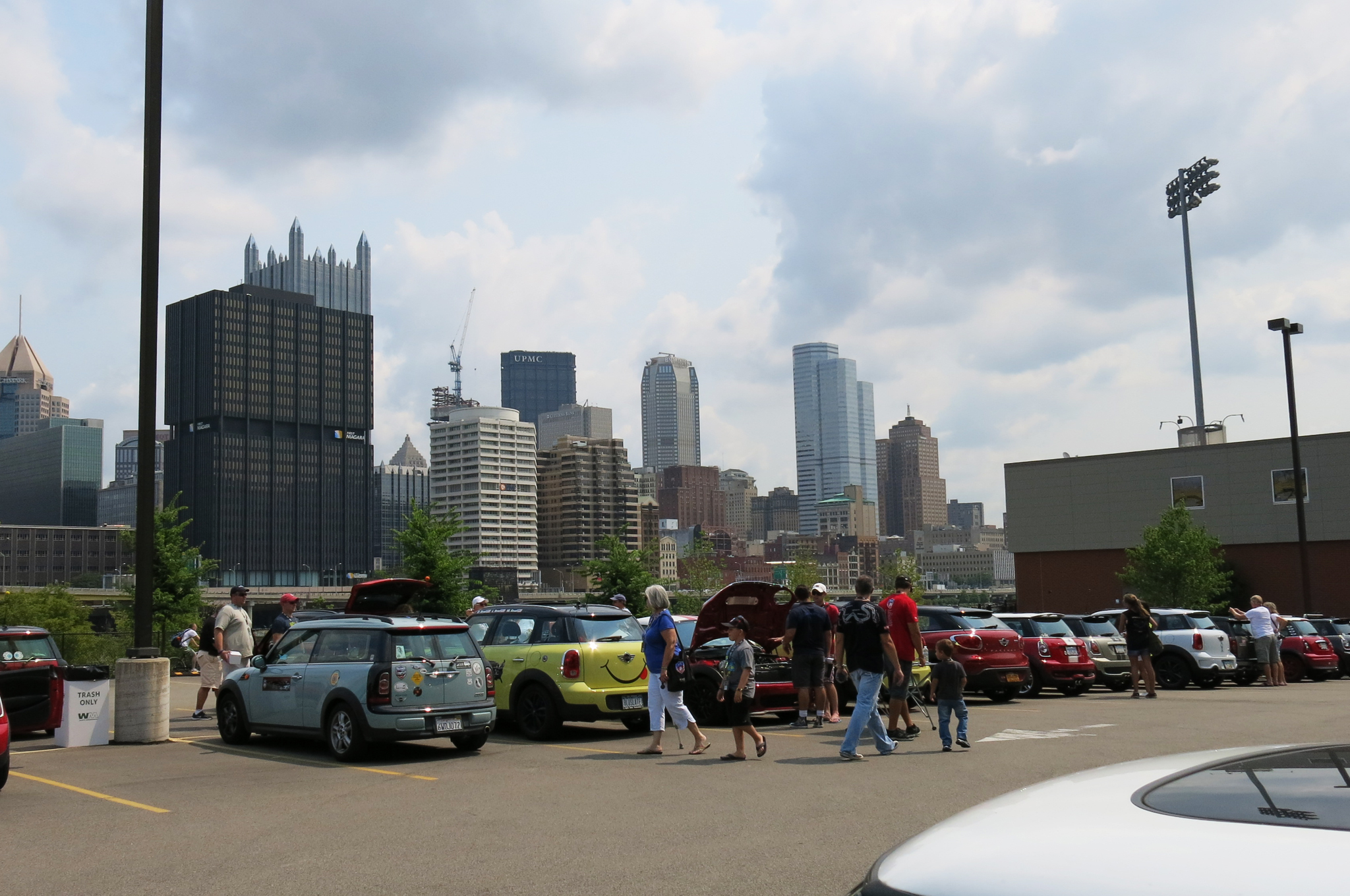 Pit stop in Pittsburgh, PA at the Highmark Stadium, home of the Riverhounds soccer team.