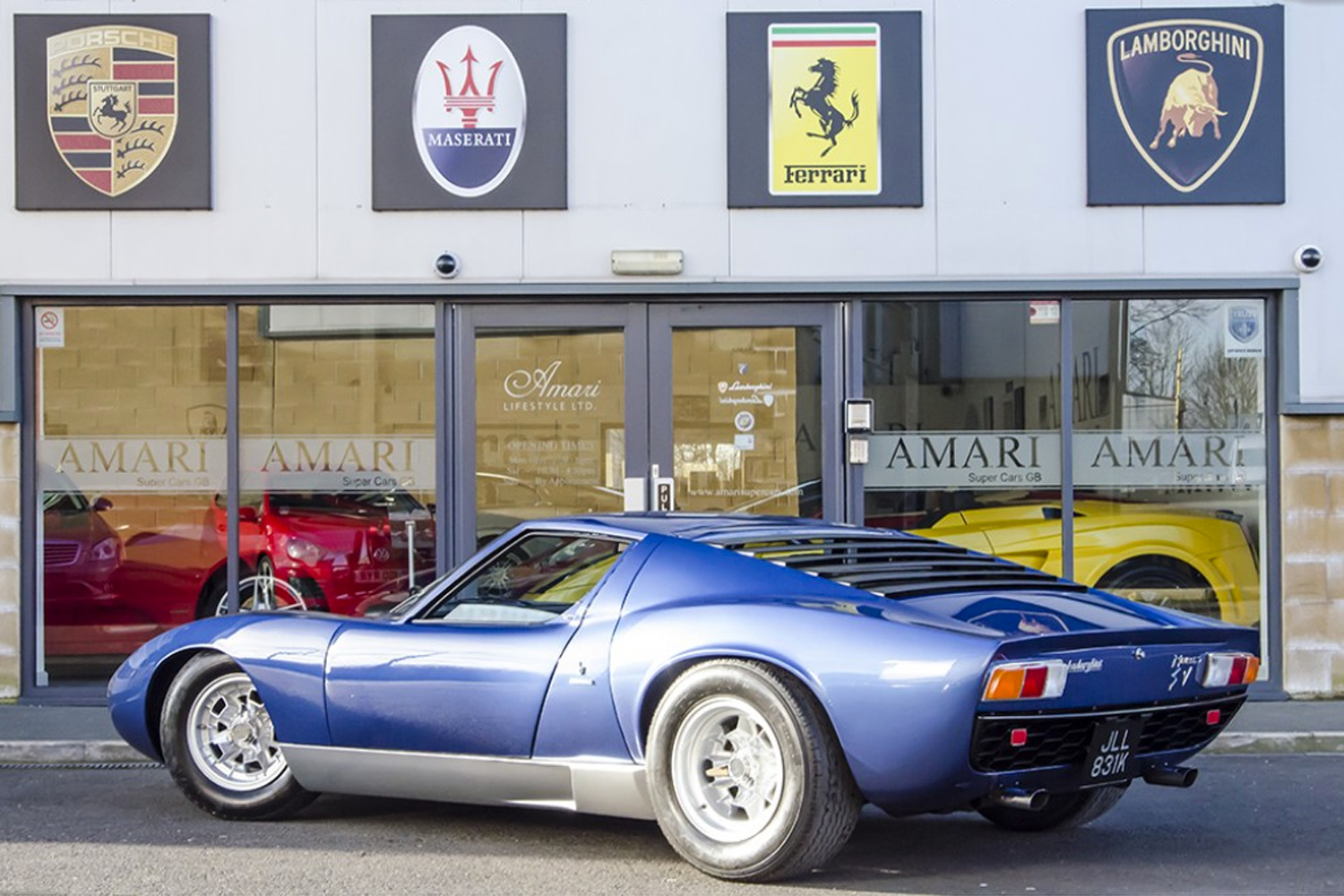 1971 Lamborghini Miura P400 S Owned By Rod Stewart Up For Sale