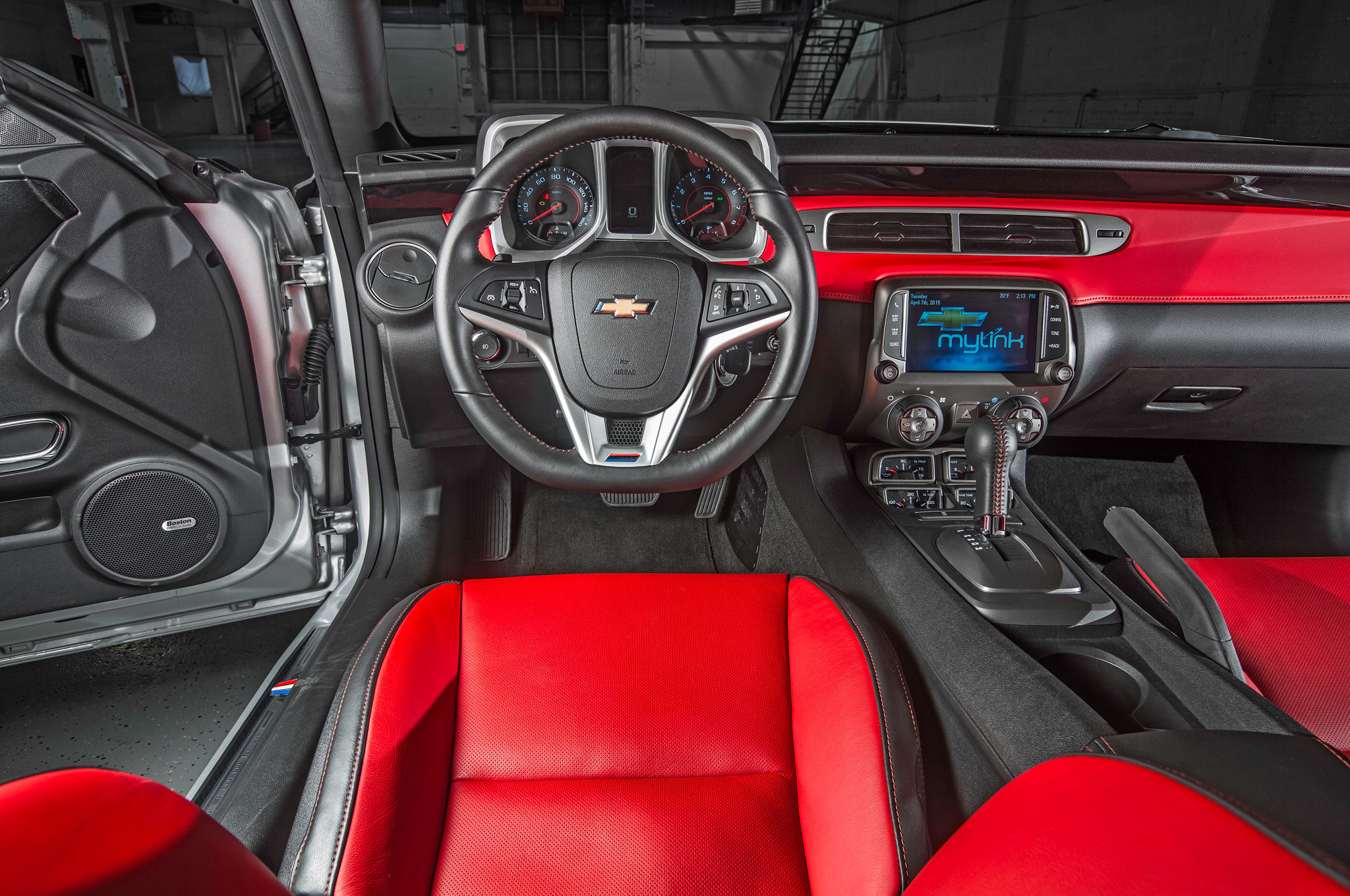 Chevy put a little more money and a lot more thought into the new cabin, above. Whereas the old interior, left, featured stylish but useless controls and gauges, the new dash is more clearly laid out. Designers paid particular attention to lowering the dashboard to improve outward visibility.