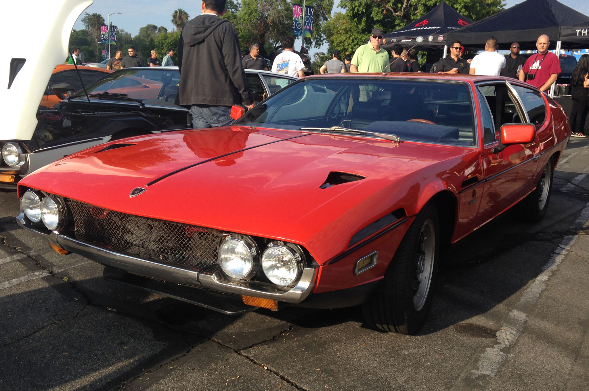 Ah, Espada. The four-seater grand touring coupe designed by Marcello Gandini while he was with Bertone. Espada means sword in Spanish and is a reference to the deadly instrument used in bullfights by the matador. Espadas were made for 10 years beginning in 1968, and the design is something of an acquired taste.