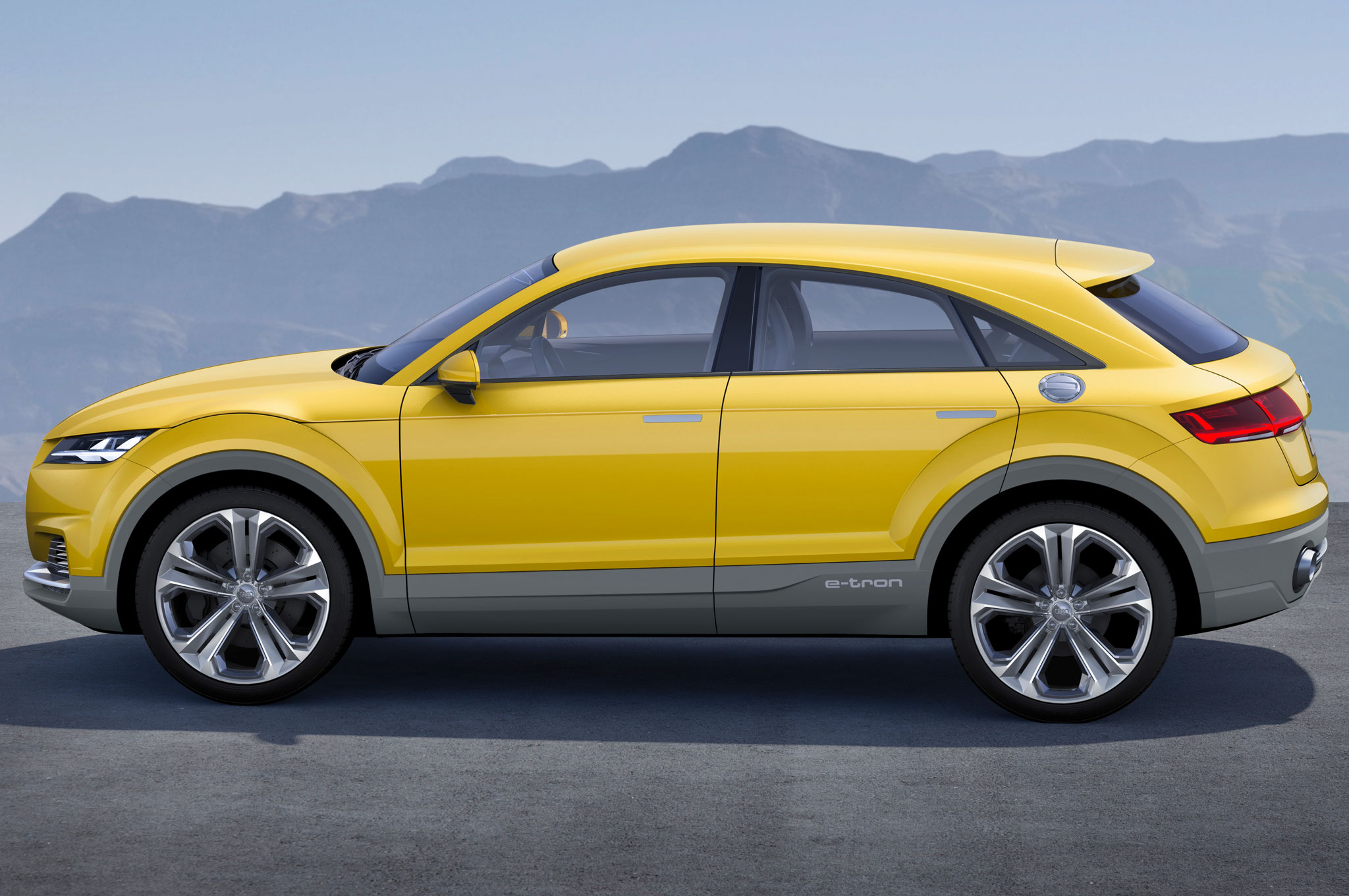 The Audi TT Offroad concept from 2014.