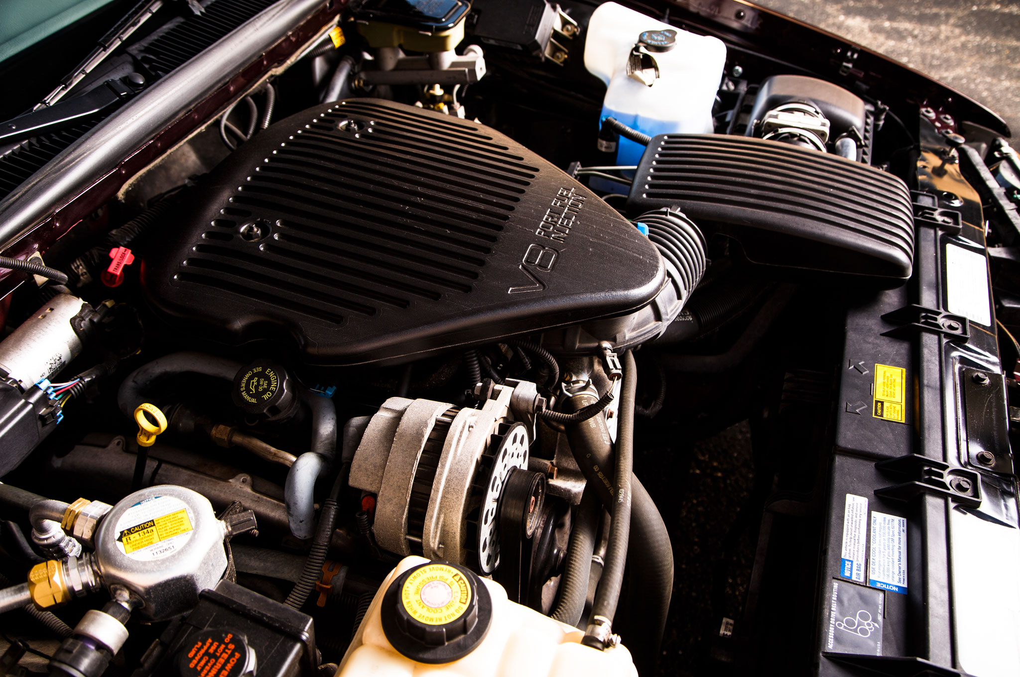 The 5.7-liter LT1 V-8 doesn't put out big numbers, but hot rod parts are widely available.