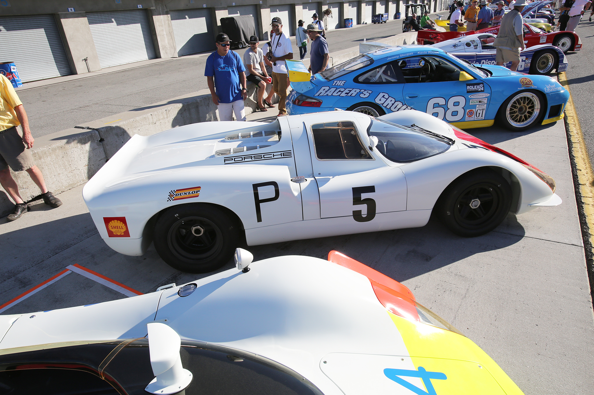 29. Michael Malone's 1968 Porsche 908 at the concours.