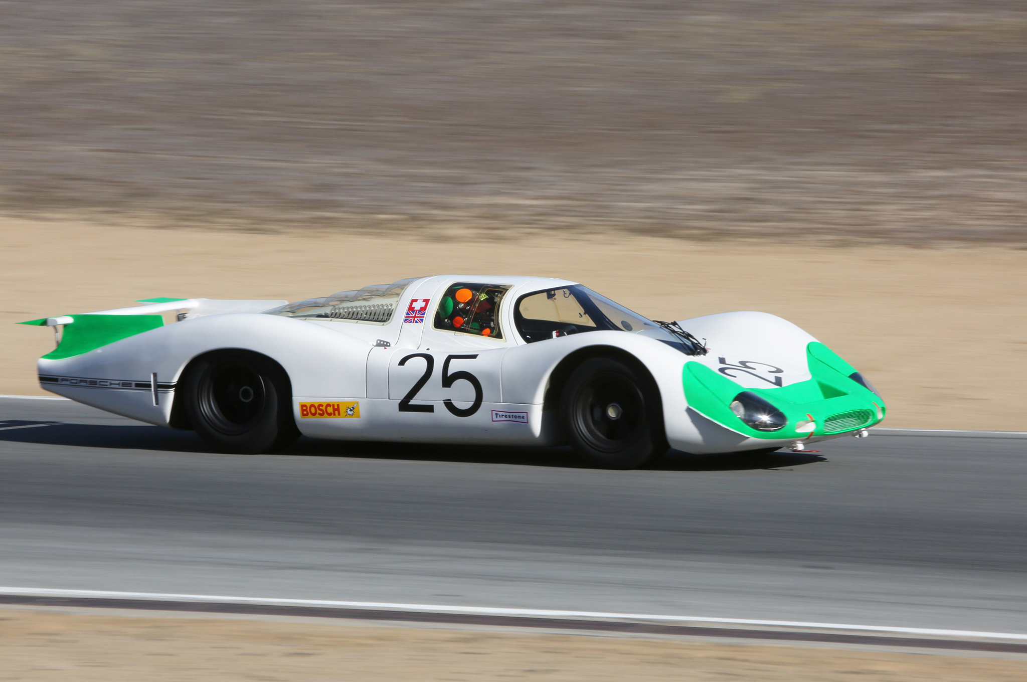 20. The Revs Institute brought this 1969 Porsche 908 LH, driven by Gunnar Jeannette.