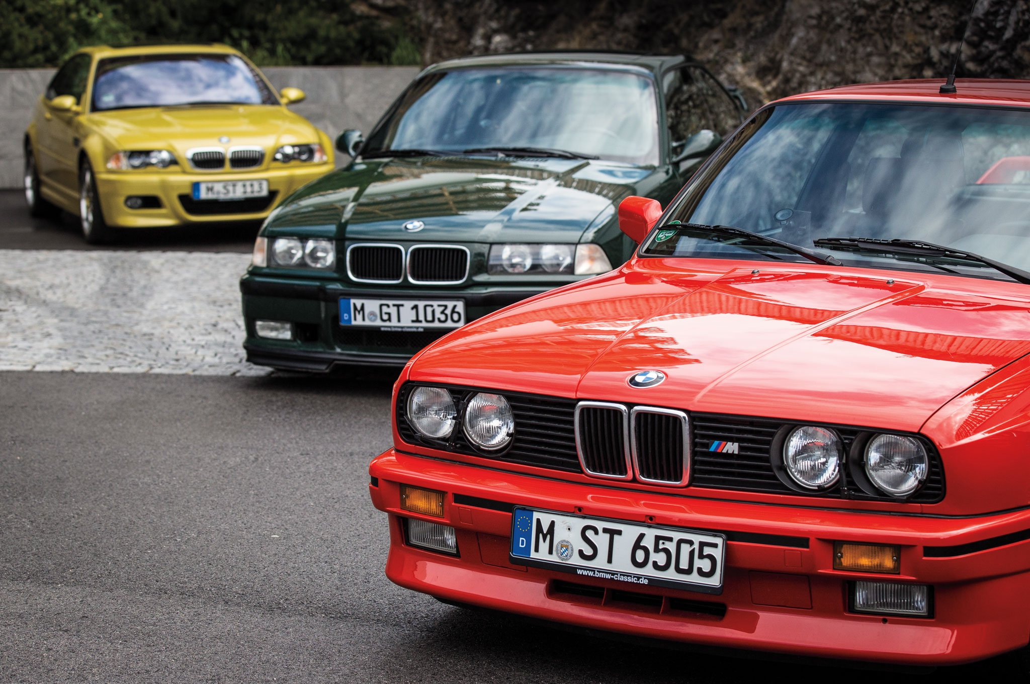 The shape of the BMW twin-kidney grille has changed over the years, and so has the spirit within the M3.