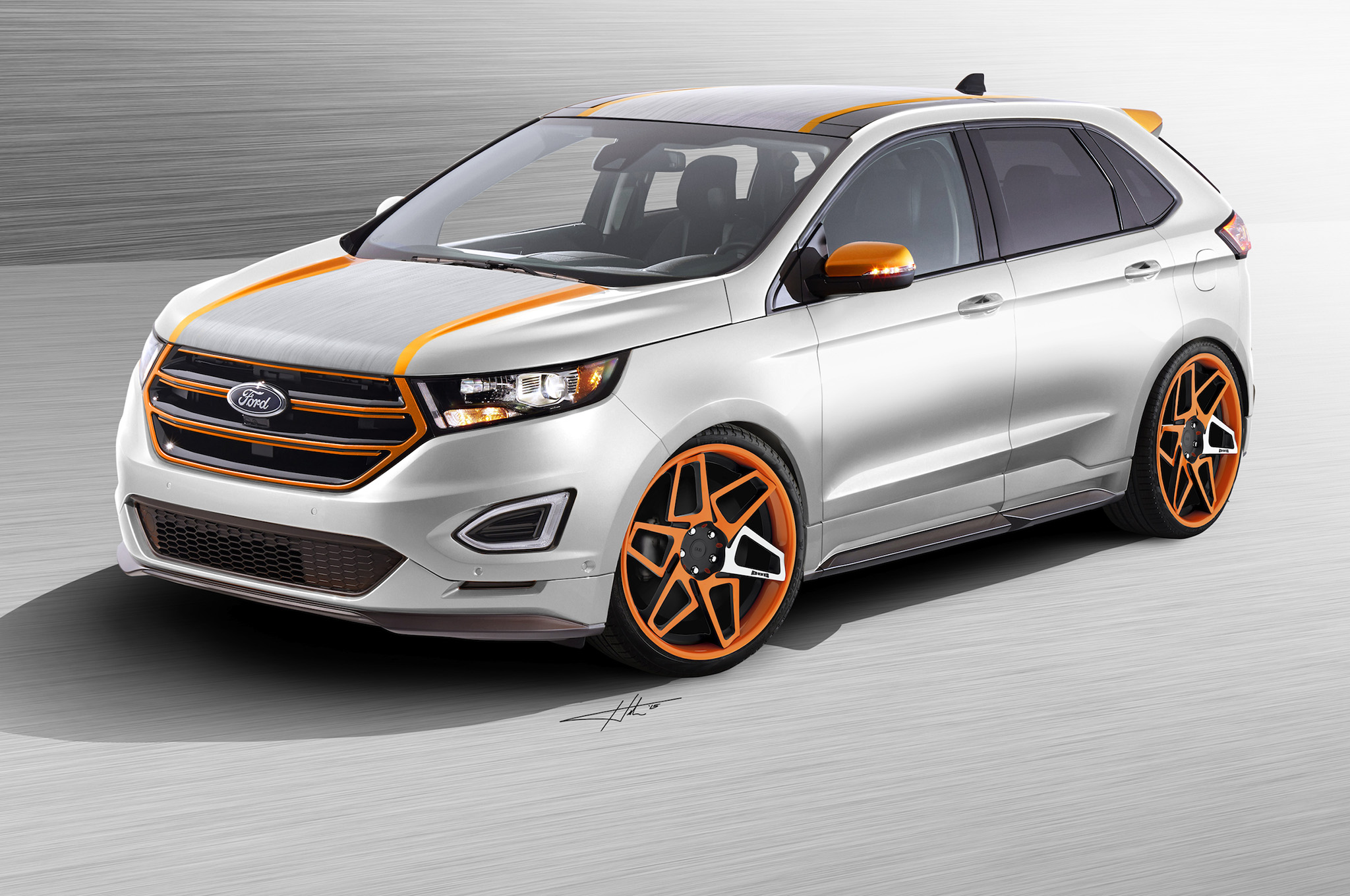 Three Custom Ford Edge Concepts Bound For Sema Tail Light Wiring