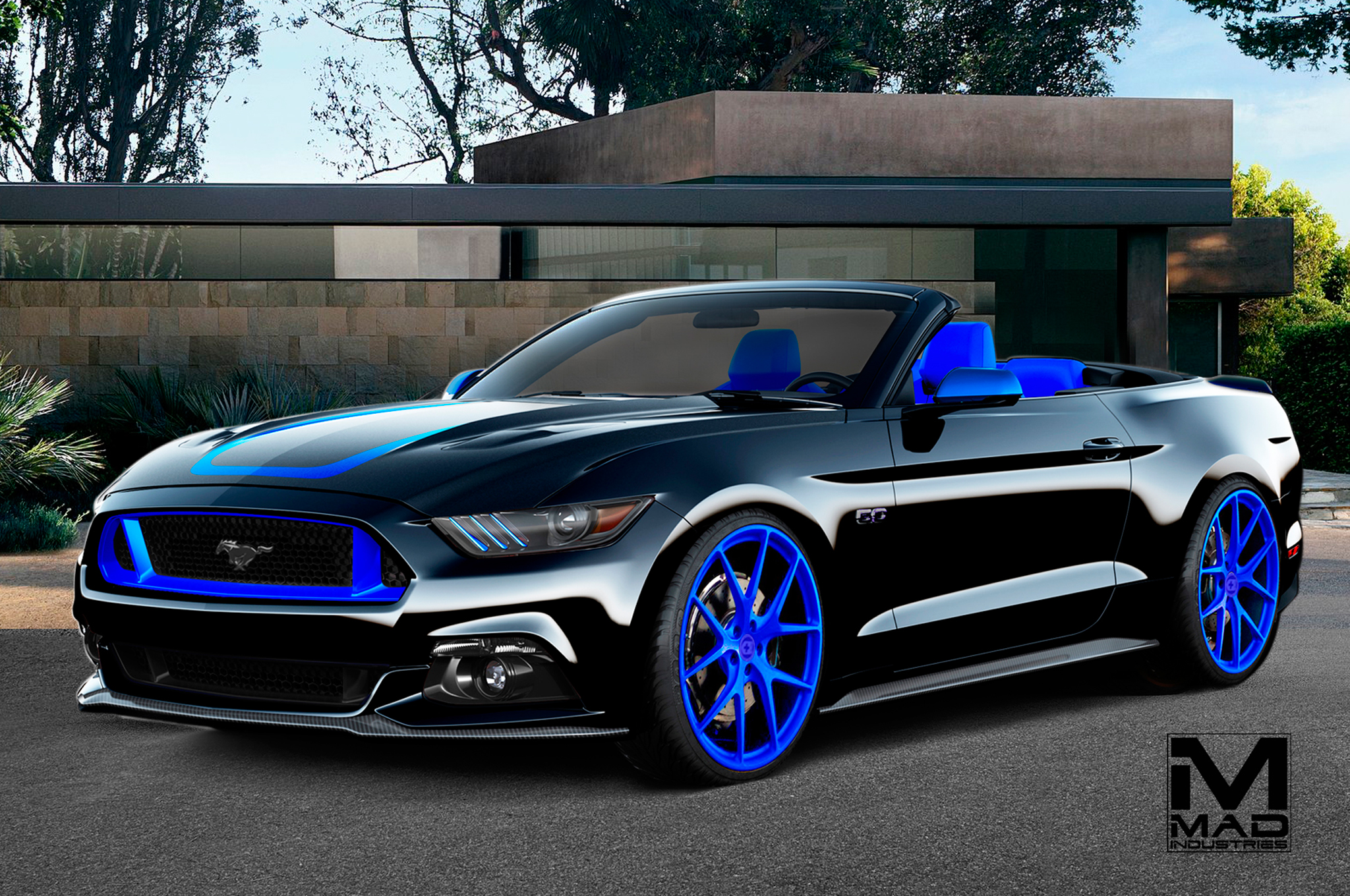 Eight Tuner Ford Mustangs Bound For Sema 900 Hp Ecoboost Included Diagram In Addition Gmc Sierra Led Lights Under Moreover Car Engine