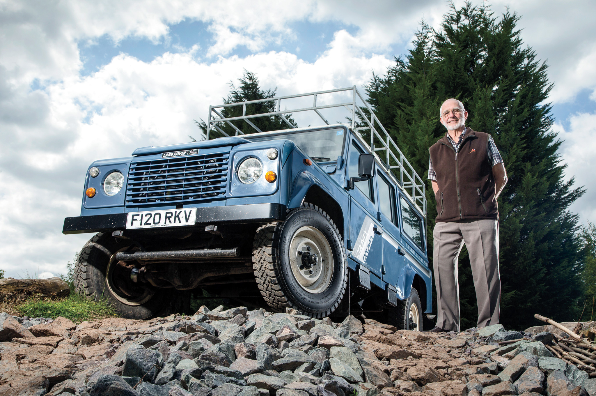 End Of Watch One Last Run In The Land Rover Defender 90 Challenge Mr