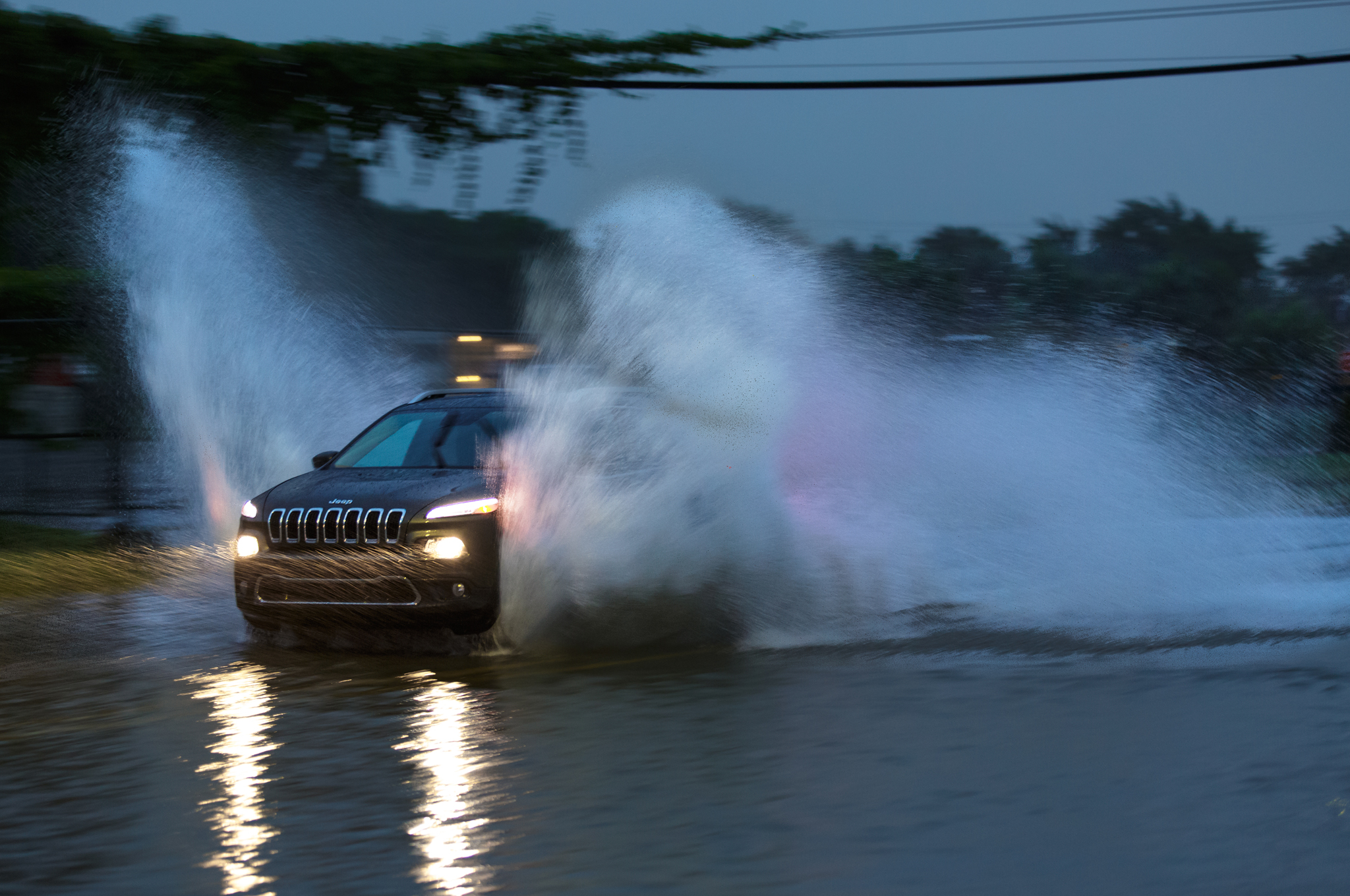 When Mother Nature threw down her savage gauntlet, we remembered why it's great to have a Jeep.