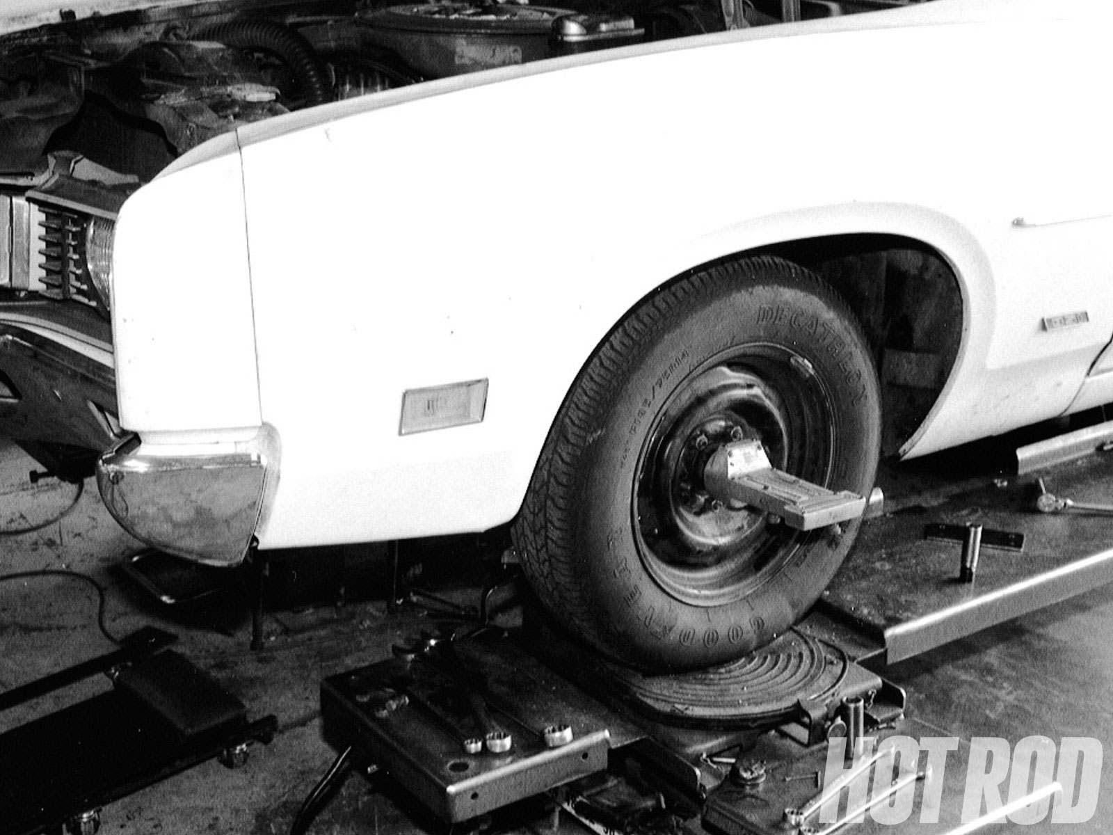 Proper geometry can mean getting the most out of your cornering. A trip to an alignment shop will mean that you will get the most out of your modifications.