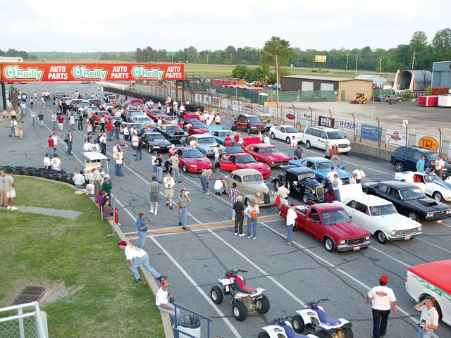 The event encourages a wide variety of cars that would never otherwise compete in the same class.