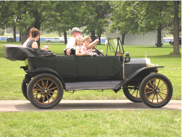 1909: The Model T debuts, priced at $850.