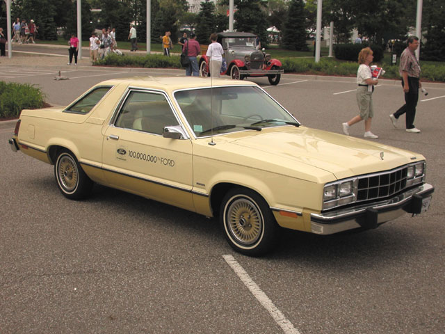 1978: The production of the 100 millionth Ford car--a '78 Fairmont Futura--coincided with the company's 75th anniversary.