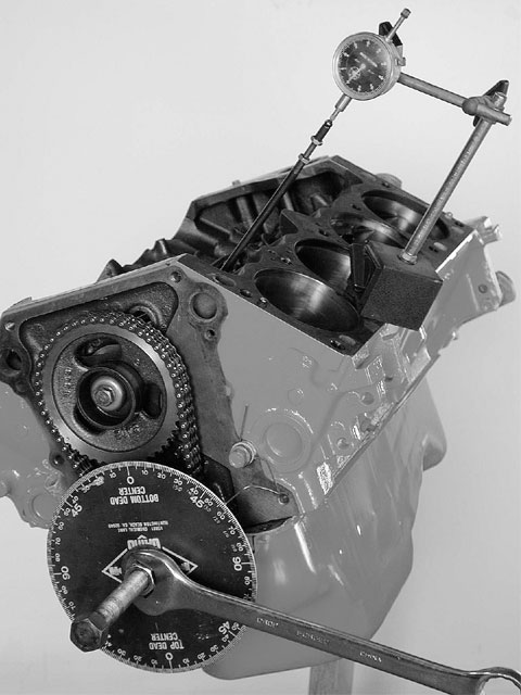To get the cam timing events occurring at the designed specifications, the cam should be degreed-in, which involves checking the cam's position relative to the crank.