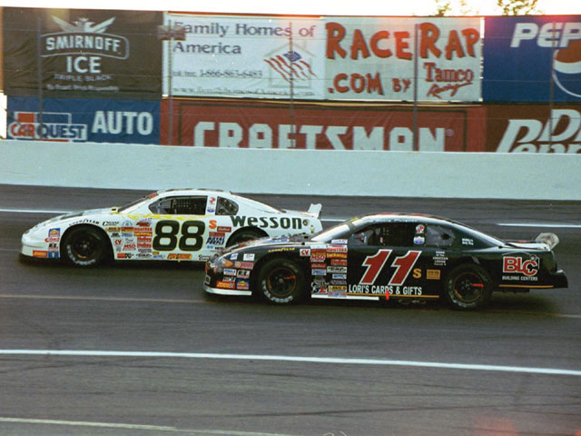 He worked long and hard at correcting all of the chassis problems that plagued his car until it finally paid off with a strong run over an equally strong field.