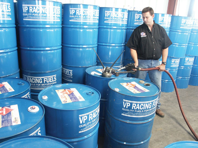 The barrels of fuel are filled and tightly sealed for their trip throughout the United States or around the world.
