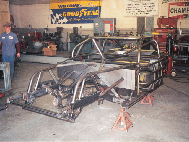 A bare chassis is a beauty to behold. It's a precise work that requires time and patience. The chassis builder will take the time to build it right-you need to have the patience to allow them the time to do their job. The best way to accomplish this is to order early.