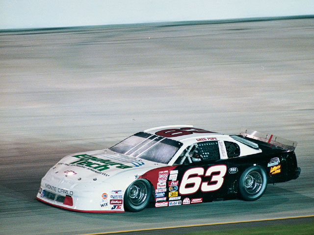 Until now, Endura-Tech valvesprings were found only in a handful of Winston Cup cars. Lafferty has begun experimenting with them in Saturday night classes to take advantage of the increased performance available. Photo by Jeff Sandt