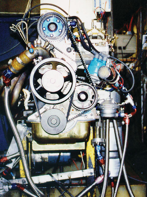 Esslinger Engineering's dyno was used for break-in, testing, and tuning. The maximum horsepower figures checked in at 174.6 at 7,000 rpm.