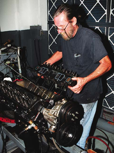 Crane maintains an extensive dyno facility to evaluate valve train and cam components.