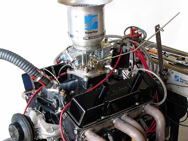 When Sherman put the right cam in the 421 stroker small-block Chevy, it gained 70 hp over the mismatched baseline combo.