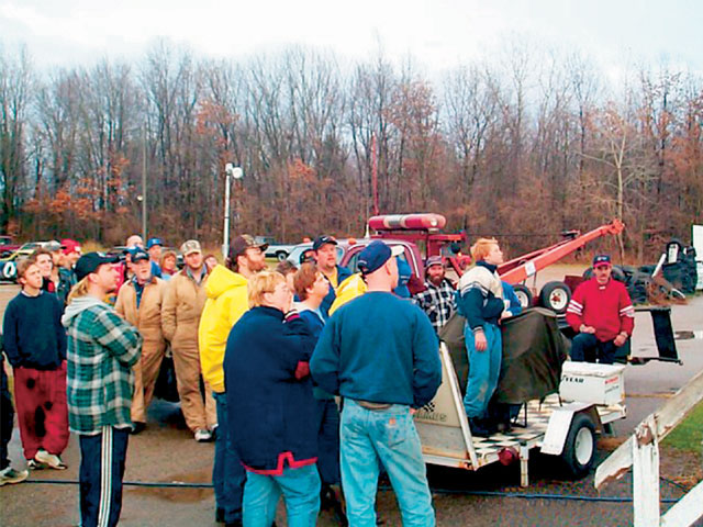 Drivers come from throughout the region to put on the show. The group of drivers may be smaller in number than some area tracks, but their dedication has proven itself to be the backbone of racing at Mottville.