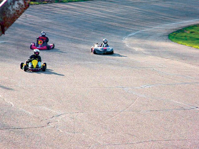 Kart racing is one of the fastest growing segments in the region, and Mottville provides an exciting racing facility for this division.